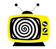 Televisão como mass media influentes Imagens de Stock Royalty Free