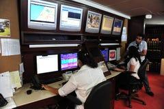 Televisão de circuito fechado Imagens de Stock Royalty Free