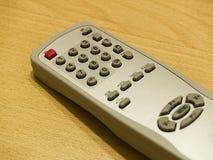 Televisão de controle remoto Fotografia de Stock Royalty Free