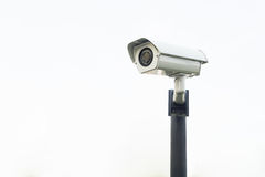 televisão do CCTVClosed-circuito Fotos de Stock