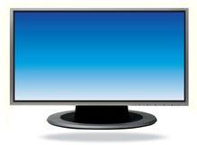 Televisão do Lcd Fotografia de Stock