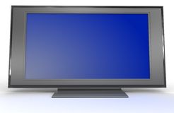 Televisão do LCD Fotos de Stock Royalty Free