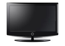 Televisão do LCD ilustração do vetor