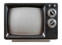 Televisão do vintage Fotografia de Stock Royalty Free