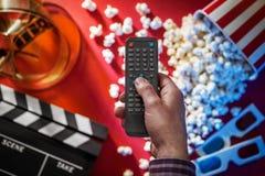 Televisão e filmes Imagem de Stock Royalty Free
