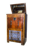 Televisão eletrônica do console Produção em 1938 fotos de stock royalty free