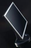 Televisão lisa do LCD isolada Foto de Stock