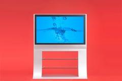 Televisão moderna fotos de stock