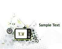 Televisão retro Imagens de Stock