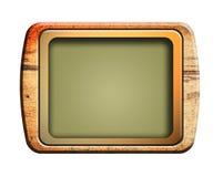 Televisão velha Fotos de Stock