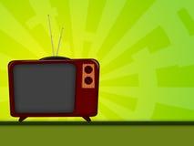 Televisão velha Imagem de Stock Royalty Free