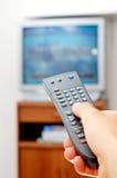 Televisión Imagen de archivo libre de regalías