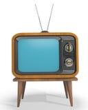 Televisión clásica Fotografía de archivo libre de regalías