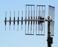 Televisión de la antena. Fotografía de archivo