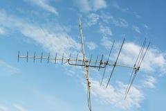 Televisión de la antena Imagenes de archivo