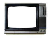 Televisión de la vendimia Imagenes de archivo