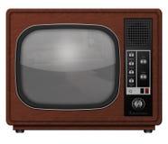 Televisión de la vendimia Imágenes de archivo libres de regalías