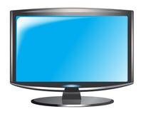 Televisión del LCD Fotos de archivo