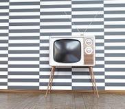 Televisión del vintage stock de ilustración