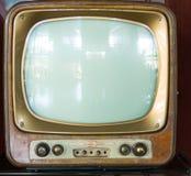 Televisión del vintage Fotografía de archivo