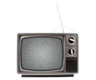 Televisión retra Foto de archivo libre de regalías