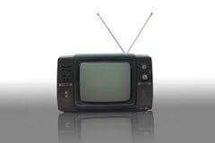 Televisión vieja Fotografía de archivo libre de regalías