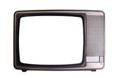 Televisión vieja Imagenes de archivo