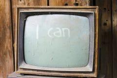 Televisión vieja Imagen de archivo