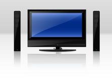 Televisie Royalty-vrije Stock Fotografie