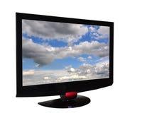 Televisie royalty-vrije stock afbeeldingen