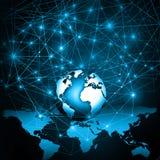 Televisie en Internet-productietechnologieconcept Stock Fotografie
