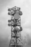 Televisie en radiorepeatertechnologie om het signaal over te brengen Royalty-vrije Stock Fotografie