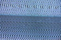 Televisie met statisch lawaai royalty-vrije stock afbeelding