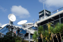 Televisie Nieuw Zeeland stock afbeelding