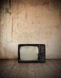 Televisie in ruimte stock foto