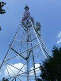 Televisieradiostation in Lviv stock afbeeldingen