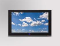 Televisietoestel Stock Foto's