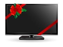 Televisión del plasma Imágenes de archivo libres de regalías