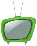 Television. Illustration of a retro television Stock Photo