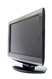 Television. On a white background stock image
