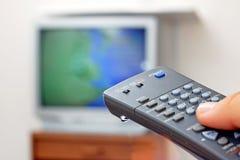 television Royaltyfri Foto
