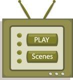 Television ang media Stock Image