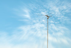 Television antenna Stock Photos