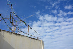 Television antenna Royalty Free Stock Photography