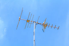 Television antenna. Stock Photography