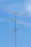 Television antenna Stock Image