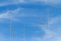 Television antenna Stock Images
