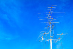 Television antenna Royalty Free Stock Image