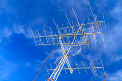 Television antenna Royalty Free Stock Images