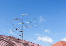 Television antenna Royalty Free Stock Photo